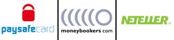 Servizi Bancari: Paysafecard, Moneybookers, Neteller