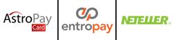Opções de Pagamento: AstroPay | entropay | Neteller